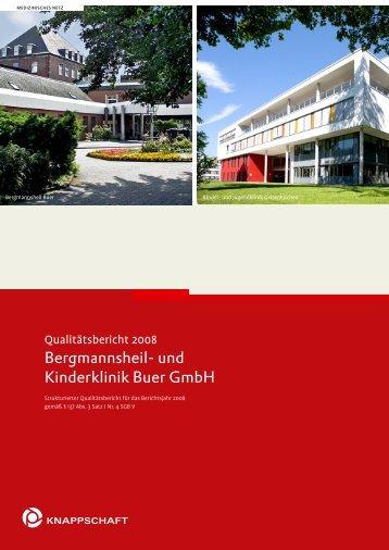Qualitätsbericht 2008 (PDF) - Bergmannsheil Buer