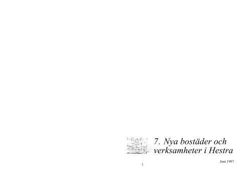 7 Nya bostäder och verksamheter i Hestra.pdf - Gislaveds kommun