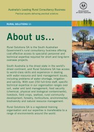 About Us (pdf~0.35Mb) - Rural Solutions SA