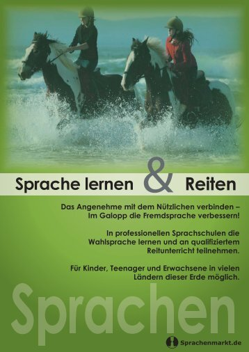 Reiten - Sprachenmarkt.de
