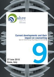 Current developments and their impact on counselling - eshre