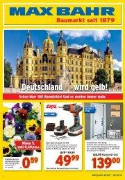 Deutschland wird gelb! - Max Bahr
