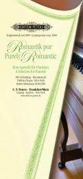 Romantik pur Purely Romantic
