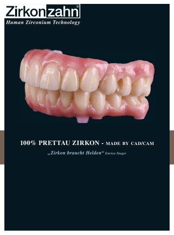 human zirconium technology - Zirkonzahn