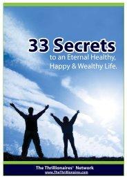 33 Secrets - GetResponse