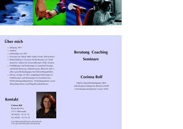 Corinna Rolf - Sprachheiltherapie Ritterhude