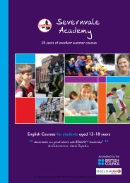 English Courses for students aged 13 - 18 years - Sprachenmarkt.de