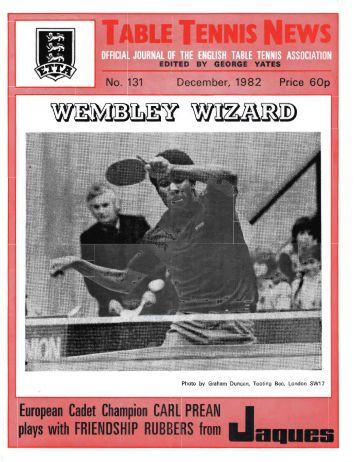3. Dec 1982 - The English Table Tennis Association