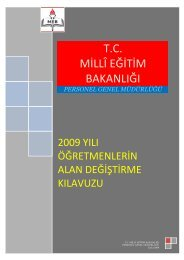 Kılavuz İçin Tıklayınız - Türk Eğitim-Sen