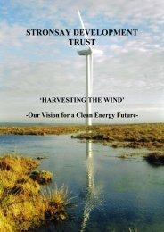 Stronsay Hydrogen Brochure.pdf - Orkney Communities