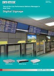 Digital Signage - Dfi-itox.com