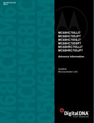 MC68HC705JJ7 MC68HC705JP7 MC68HC705SJ7 ... - ECA