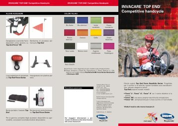 InvacaRe® ToP end® competitive handcycle