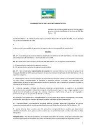 rocedimentos e critérios para o processo de escolha e indicação ...