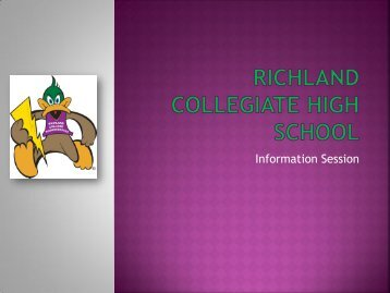 Information Session - Richland College
