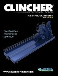 CLINCHER® RP6512-02 Technical Manual - Revision ... - McCoy