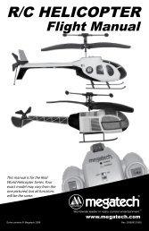 Flight Manual - High Definition Radio Control