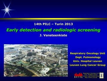 Screening and early detection - Imedex