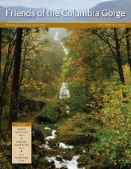 Fall 2009 - Friends of the Columbia Gorge