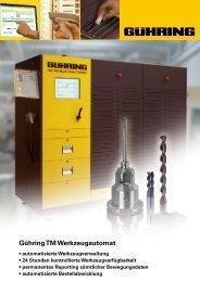 Gühring TM Werkzeugautomat