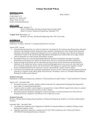 Nathan Marshall Wilson - Stanford Technology CAD Home Page ...