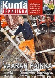 6 /2009 - Kuntatekniikka.Fi