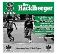 Download PDF - SpVgg Hacklberg