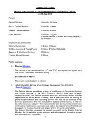 To agree the minutes of the meeting held on 16th July 2013 PDF 42 ...