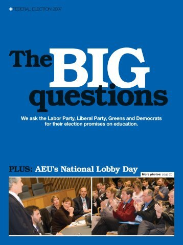 The big questions - Australian Education Union