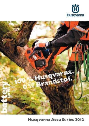 Husqvarna Accu Series 2012 - LeCoBa