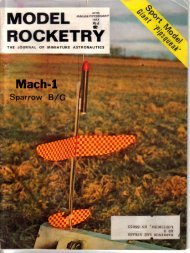 Model Rocketry - Ninfinger.org