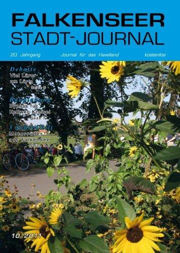 Oktober 2011 - Falkenseer Stadtjournal