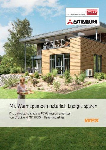 Mit Wärmepumpen natürlich Energie sparen - Stulz GmbH