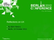 LibreOffice Berlin 2012 Conference Presentation Template