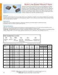 Multi-line filters (CAT0015 - pg58-59).p65 - Rockby
