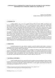 Comparação da composição e estrutura de duas ... - Instituto Florestal