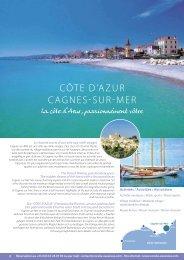 CÔTE D'AZUR CAGNES-SUR-MER - CORALIA les vacances