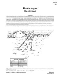 Montacargas Mecánicos - grupo dielec