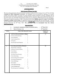 Ph.D. Entrance Test 2013 Announcement and Form Revised