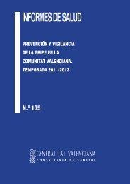Informe 135 GRIPE-OK.indd - Conselleria de Sanitat - Generalitat ...