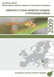 Извештај о стању животне средине у Републици Србији за 2009 ...