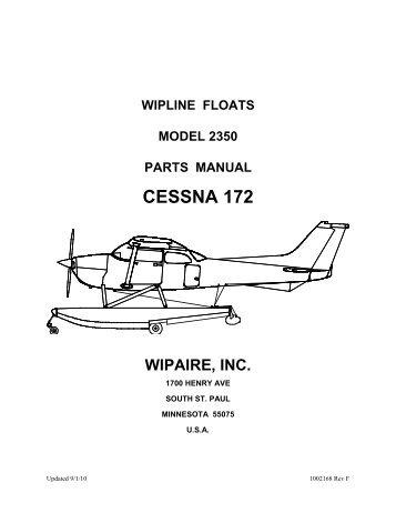 Cessna parts manual 172