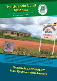 Issue 7 - Uganda Land Alliance