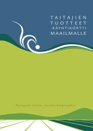 tuloksia - ProAgria Oulu