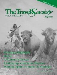 Vol. 24 No. 10 December 2006 - The Travel Society