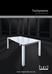 Tischsysteme - objectservice.de
