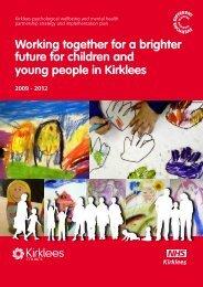 Psychological wellbeing and mental health ... - NHS Kirklees