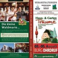 Die kleine Waldmarie … - Ferienregion Oberhof