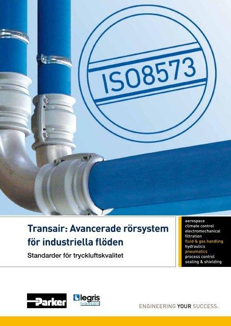 Transair: Avancerade rörsystem för industriella flöden