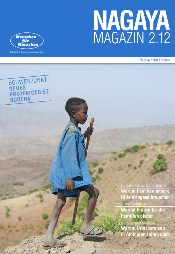 MAGAZIN 2.12 - Menschen für Menschen
